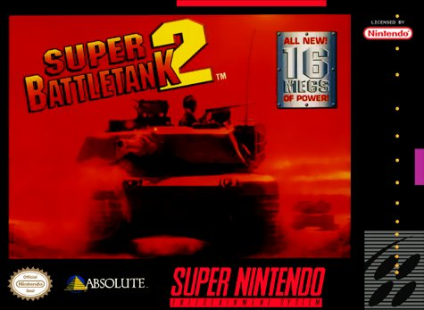 Super Battletank 2 Cover Art