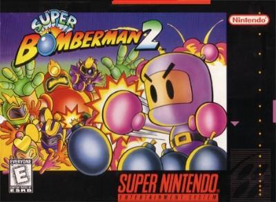 Super Bomberman 2 Cover Art
