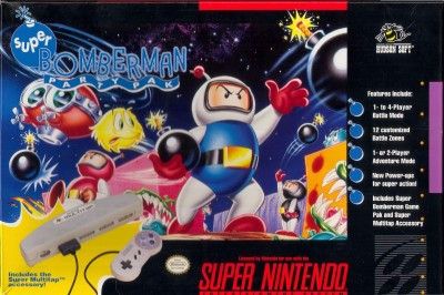 Super Bomberman Party Pack Cover Art