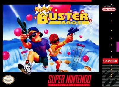 Super Buster Brothers Cover Art