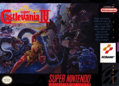 Super Castlevania IV Cover Art