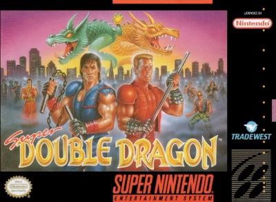 Super Double Dragon Cover Art