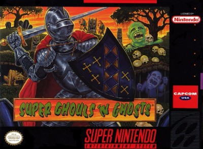 Super Ghouls 'n Ghosts Cover Art