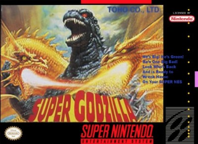 Super Godzilla Cover Art