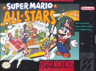 Super Mario All-Stars Cover Art