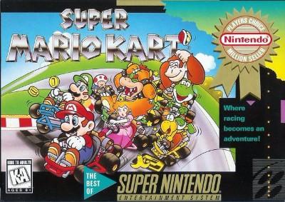 Super Mario Kart [Player's Choice] Cover Art