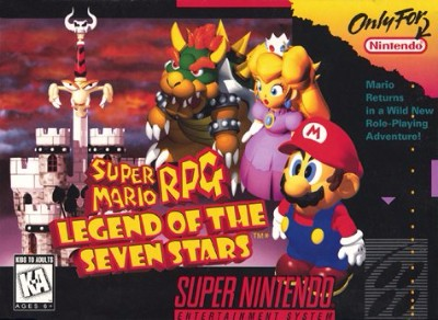 Super Mario RPG: Legend of the Seven Stars Cover Art