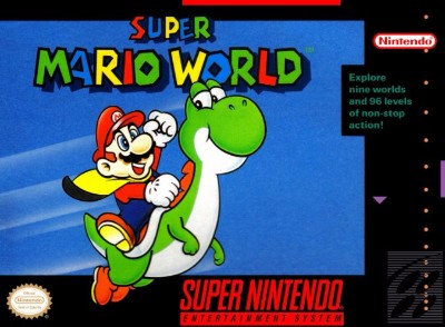 Super Mario World Cover Art