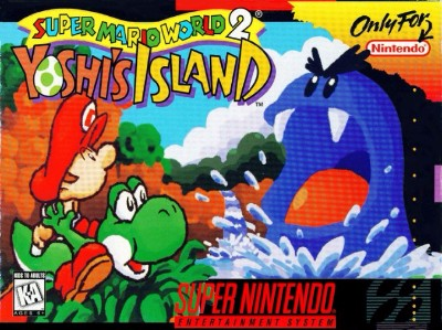 Super Mario World 2: Yoshi's Island Cover Art