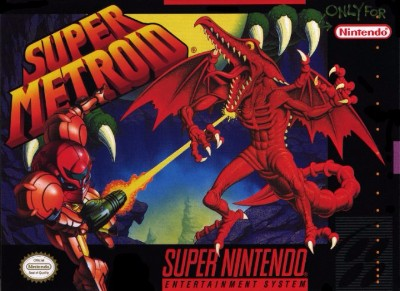 Super Metroid [Not For Resale] Cover Art