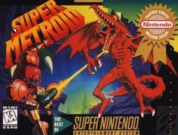 Super Metroid [Player's Choice] Cover Art