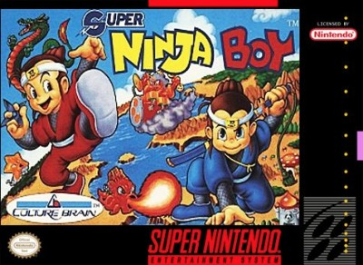 Super Ninja Boy Cover Art