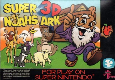 Super Noah's Ark 3-D Cover Art