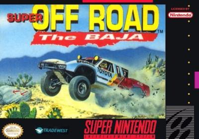 Super Off-Road: The Baja Cover Art