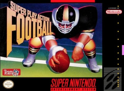 Super Play Action Football Cover Art