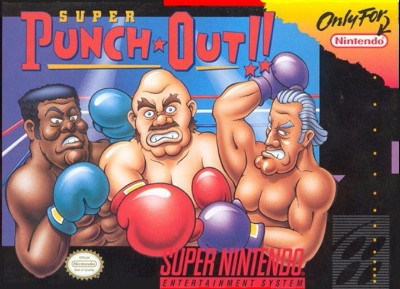 Super Punch-Out!! Cover Art