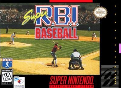 Super RBI Baseball Cover Art