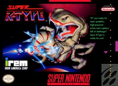 Super R-Type Cover Art