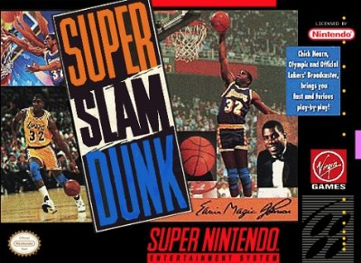Magic Johnson's Super Slam Dunk Cover Art