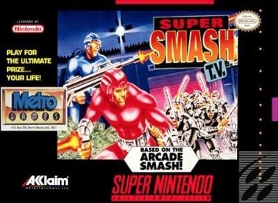 Super Smash T.V. Cover Art