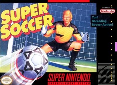 Super Soccer Cover Art