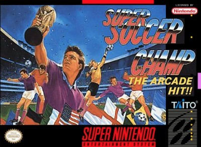 Super Soccer Champ Cover Art