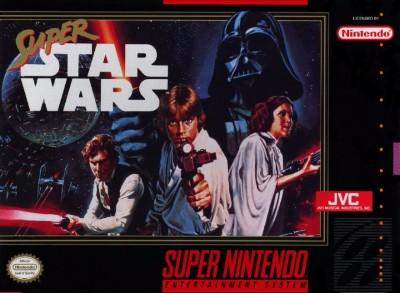 Super Star Wars Cover Art