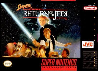 Super Star Wars: Return of the Jedi Cover Art