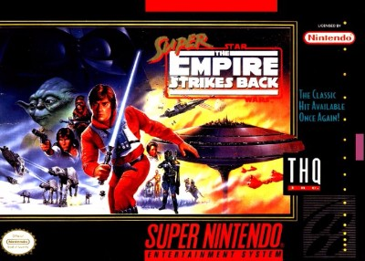 Super Star Wars: The Empire Strikes Back Cover Art