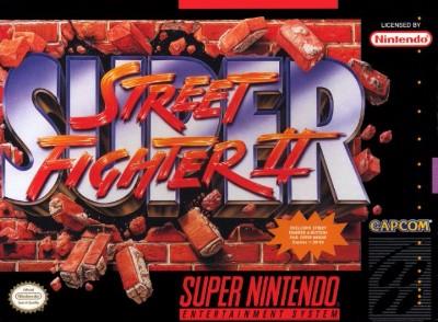 Super Street Fighter II Cover Art