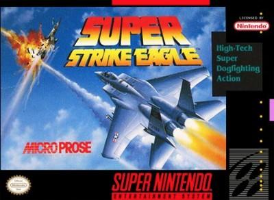 Super Strike Eagle Cover Art