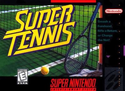 Super Tennis Cover Art