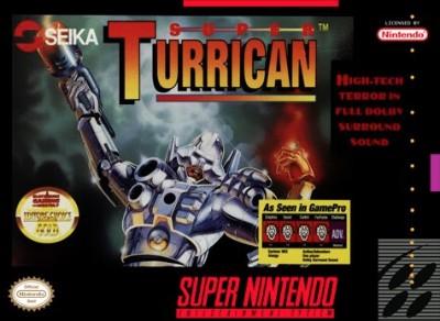 Super Turrican Cover Art