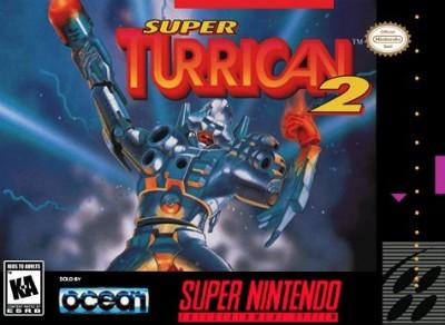 Super Turrican 2 Cover Art