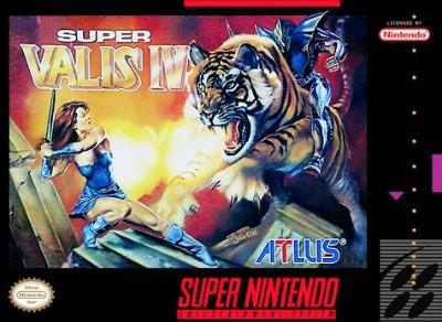 Super Valis IV Cover Art