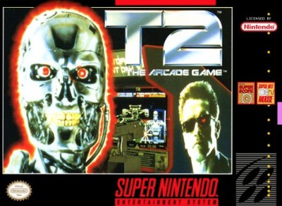 T2: The Arcade Game Cover Art