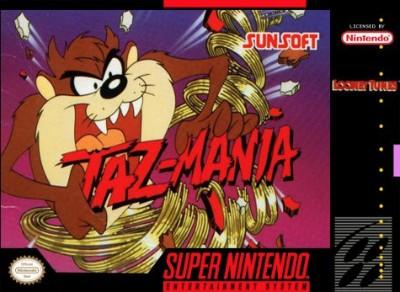 Taz-Mania Cover Art