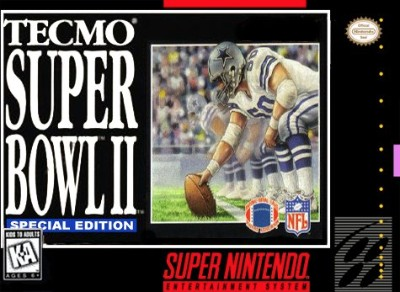 Tecmo Super Bowl II: Special Edition Cover Art