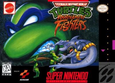 Teenage Mutant Ninja Turtles: Tournament Fighters Cover Art