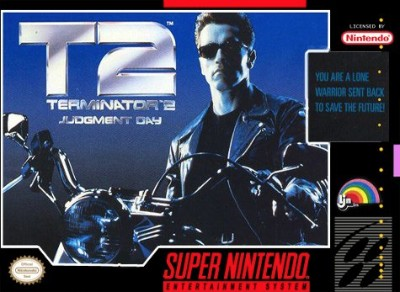 T2: Terminator 2 Judgment Day Cover Art