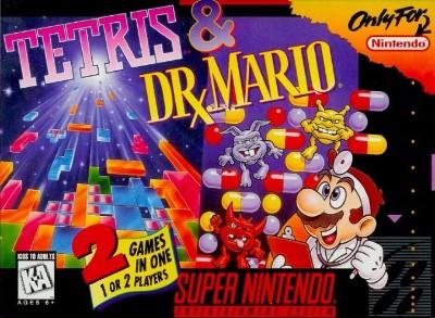 Tetris/Dr. Mario Cover Art