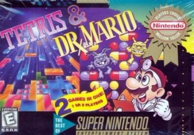 Tetris/Dr. Mario [Player's Choice] Cover Art
