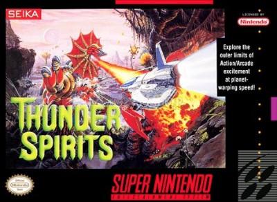 Thunder Spirits Cover Art