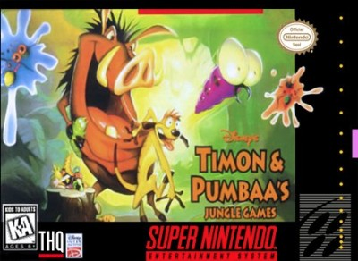 Timon and Pumbaa's Jungle Games Cover Art
