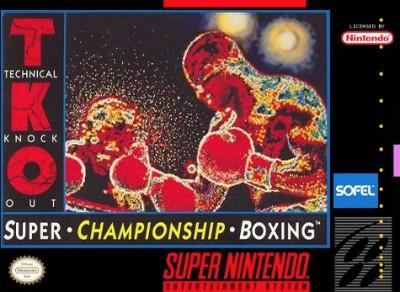 TKO Super Championship Boxing Cover Art