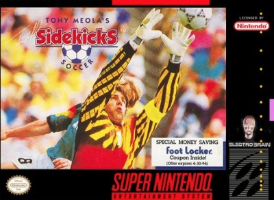 Tony Meola's Sidekicks Soccer Cover Art