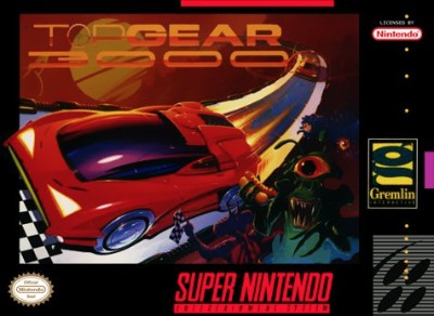 Top Gear 3000 Cover Art