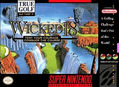 Wicked 18 Golf Cover Art