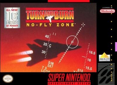 Turn & Burn: No Fly Zone Cover Art