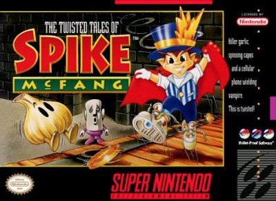 Twisted Tales of Spike McFang Cover Art